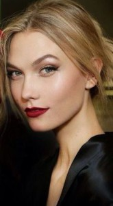 D&G red lips